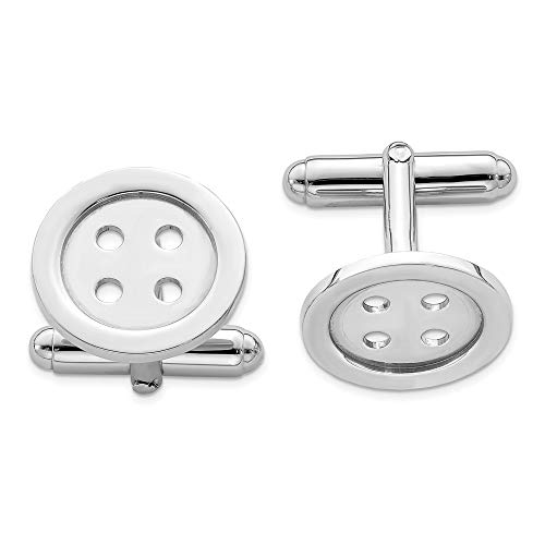 925 Sterling Silver Button Cuff Links Mens Cufflinks Man Link Fine Jewelry For Dad Mens Gifts For Him