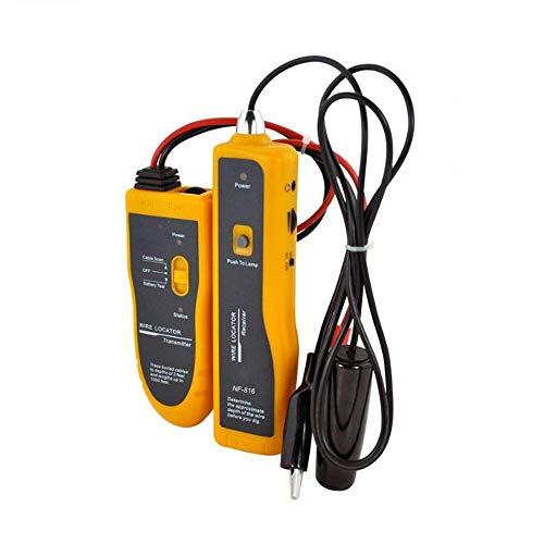 UTP de Red LAN Ethernet RJ11 FTP RJ45 Cat5 Cat6 de Alta Potencia de Metro de Cable de teléfono del perseguidor del Alambre del probador de Buscador NF816 Fácil de operar