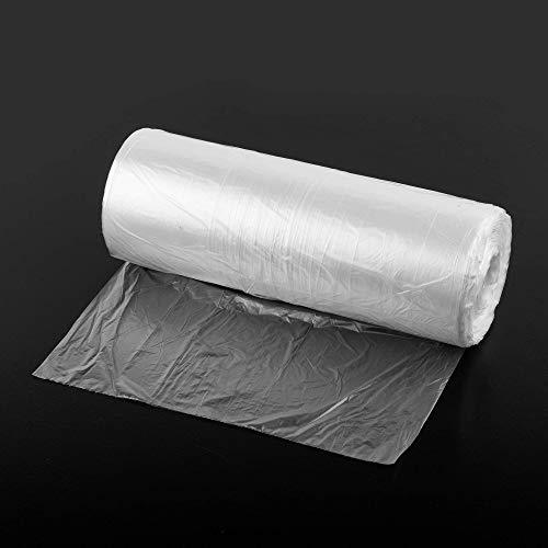 (Paquete de 1000) Compostable biodegradable en 2 años HDPE 25 x 40 cm CONTADOR Bolsas de polietileno en rollo, paquete de embalaje de plástico seguro para alimentos
