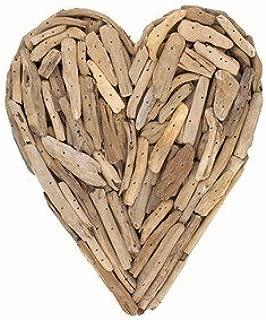 World Buyers Driftwood Heart Wall Hanging