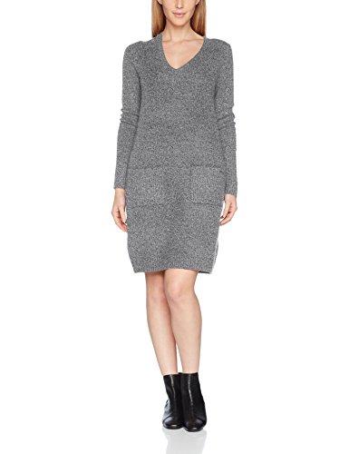 s.Oliver Damen 14710827151 Kleid, Grau (Anthracite Melange Knit 98X0), 40