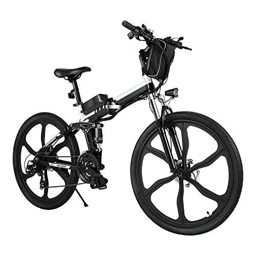 Bicicleta Eléctrica E-Bike Plegable, Bicicleta Eléctrica de 26