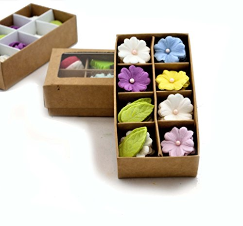 Noah Bakery Flores de azúcar Set Decoraciones Hecho a Mano Boda de Pastel