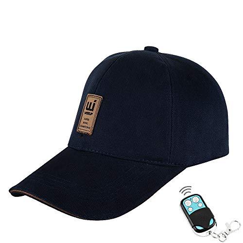 1080P HD sombrero espía cámara cuerpo cámara grabadora admite fotografía, grabación de audio y grabación de detección de movimiento, memoria de 16 GB integrada