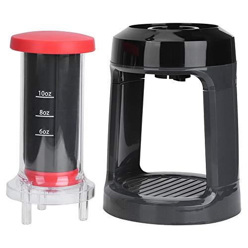 Cafetera de prensa francesa portátil, máquina de café exprés manual para el hogar, cafetera de prensa manual, émbolo de prensa francesa para cápsula de taza K, café en polvo, camping, viajes