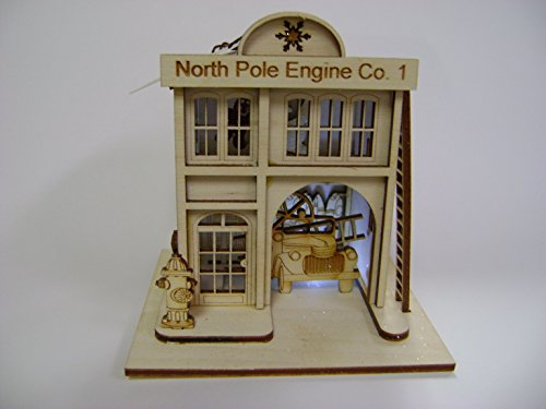 Ginger Cottages - North Pole Engine Company #1, Firehouse GC120