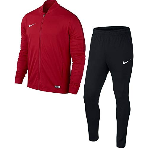 Nike Academy16 Knt Tracksuit 2, Chándal Para Hombre, Rojo / Negro / Blanco (University Red/Black/Gym Red/White), S