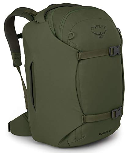 Osprey Porter 46 Travel Backpack Green One Size