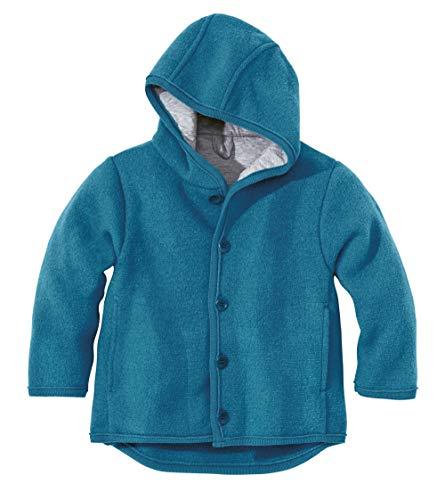 Disana Disana 32302XX - Walk-Jacke Wolle blau, Size / Größe:62/68 (3-6 Monate)