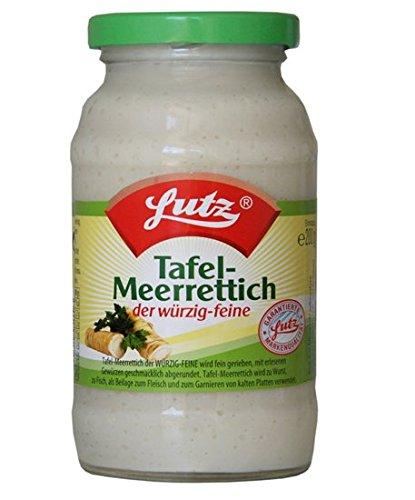 Lutz Tafel-Meerrettich 12 x 200g Tray