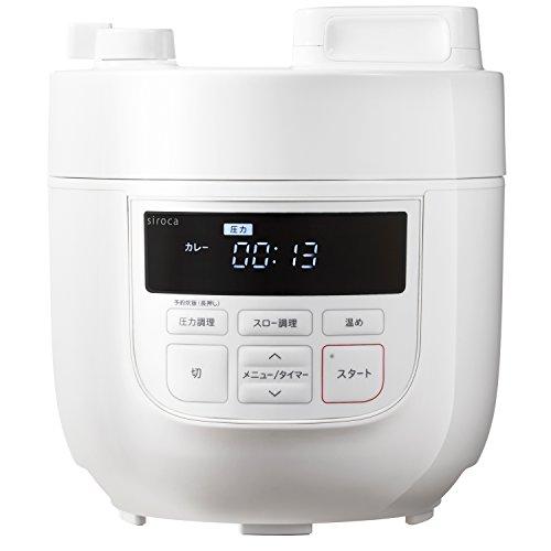 siroca『電気圧力鍋(SP-D131)』