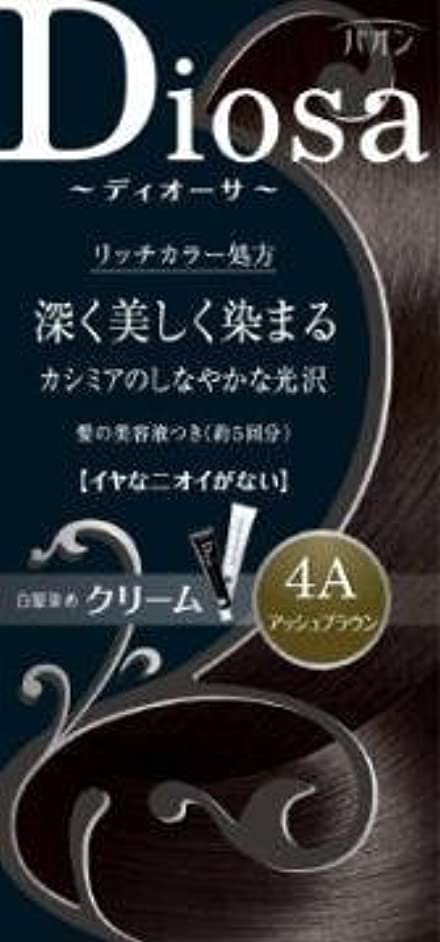 ヒステリックケージ性差別【シュワルツコフヘンケル】パオン ディオーサ クリーム 4A アッシュブラウン ×5個セット