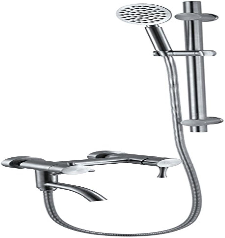 Bijjaladeva Antike Badezimmer Regen Mixer Dusche Regendusche Hahn System TippenEdelstahl mit Dusche Spalte Dusche Unter Wasser mit Tippen Sie auf Handheld Dusche