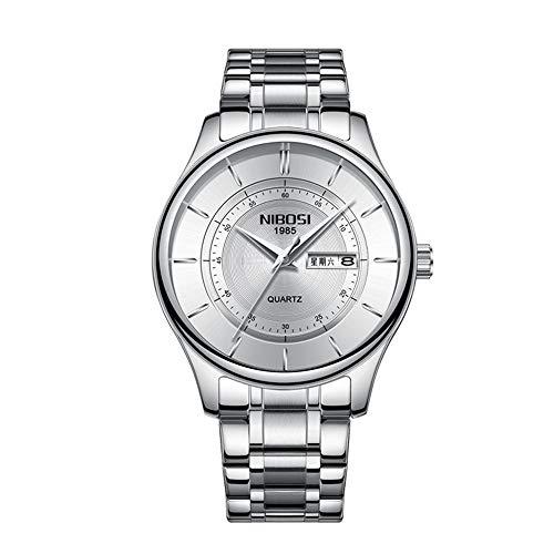 Relogio Masculino 2020 Nuevos Relojes para Hombre Relojde Cuarzo Ultra Delgado Marca Superior Correa de Malla de Acero para Hombre Relojdorado Resistente al Agua