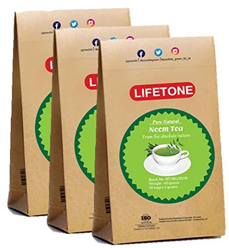 Neem-Blatt-Tee | Teatox Extreme Detox Tee | 100% natürlich und tropisch (60 Teebeutel)