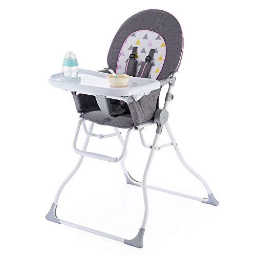 Pamo Babe Portable Fold High Chair (Pink)