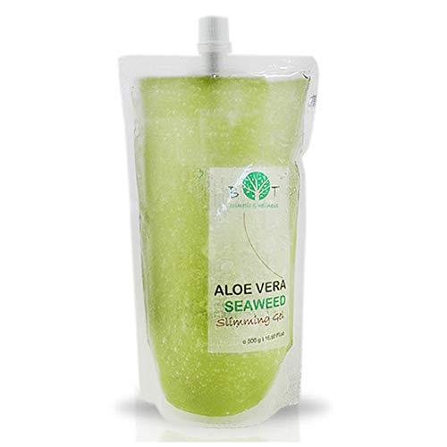 3 in1 Aloe Vera Gel und Algenextrakten Gesicht & Körper Feuchtigkeitspflege Minceur * Detox