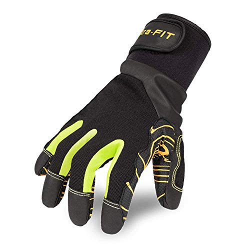 Intra-FIT Professional Anti-Vibration Glove EN ISO 10819:2013/ EN388 Certified,Great Grip Good for Drilling Equipment Operation, Tool Handling, Mechanical, Construction and Farming