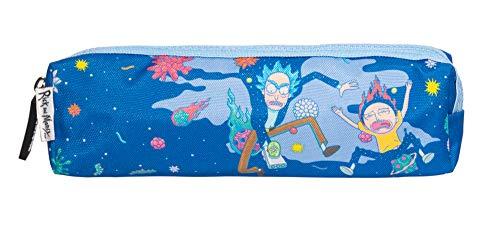 Estuche escolar: Rick   Morty azul   mediano perfecto para la vuelta al cole   Producto