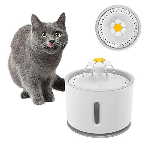 Dispensador Silencia Fuente de Agua Automática Inteligente con Sensor de Infrarrojos,bebederos Mascotas,Fuentes para Perros y Gatos