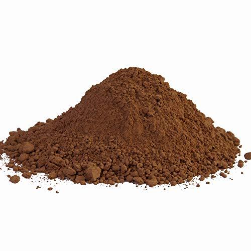 @tec Pigmentpulver, Eisenoxid, Oxidfarbe, Farbpulver Pigmentfarbe - Farbpigmente/Trockenfarbe für Beton + Wand - 100g (29,90/kg) Farbe: helles braun - kakao-braun