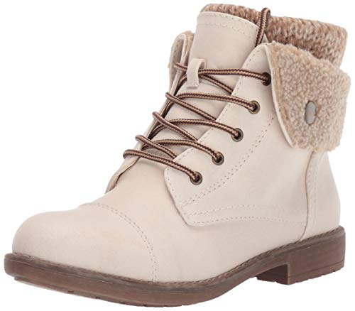 CLIFFS BY WHITE MOUNTAIN Women's Duena Hiking Style Boot, Winter White, 10 M