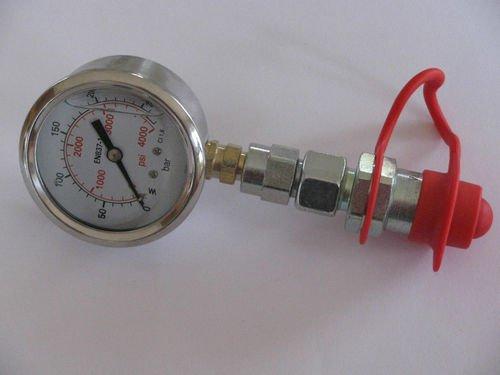 Hydraulischer Druck Test Plug/Manometer