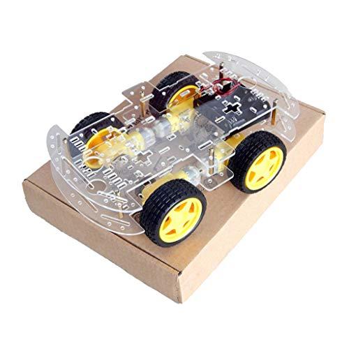 Harilla 4WD Mini Doppeldeck Smart Robot Auto Chassis DIY Kit für