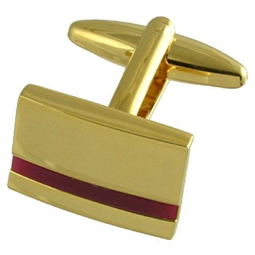 Or améthyste violette manchette avec pochette cadeau Sélectionner