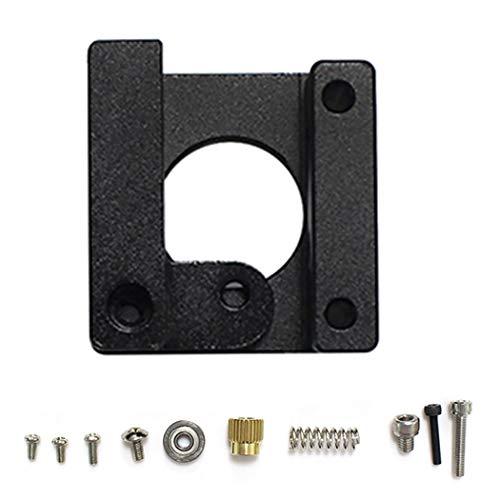 MK8 Extruder Kit Metalen Drive Feed MK8 Frame Block Extruder Kit voor 3D Printer Short Hand Zwart