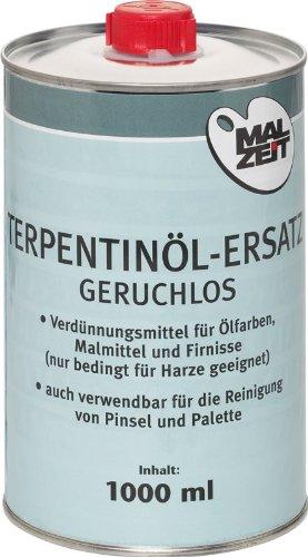 293730-2 x Terpentinöl-Ersatz geruchlos(!) 1000ml, sehr gute Qualität! angenehm zu verarbeiten - geruchlos! preiswerter Doppelpack!!!