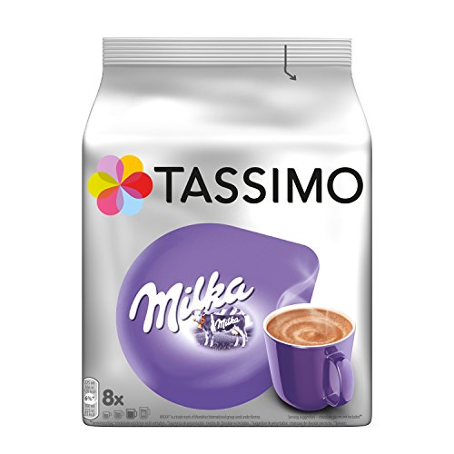 Tassimo Kapseln Milka, 8 Kakao Kapseln für 8 Getränke