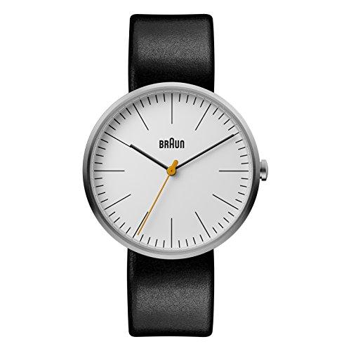 Braun Herren Datum klassisch Quarz Uhr mit Leder Armband BN0173WHBKG