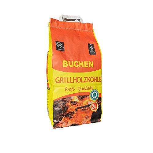 Feuerdesign - Carbonella per BBQ per Modelli Vesuvio/Mayon/Teide/Santorin - Sacco da 3 kg