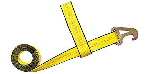 "Best Bargain ME 2""x10′ Element Wheel Lift Strap w/Pyramid Hook, Quick Pick, Wrecker, Tow 2pcs"