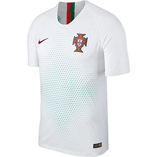 NIKE 893878-100 - Camiseta de fútbol para Hombre, Hombre, 893878-100, Blanc/Gym Red, Extra-Large