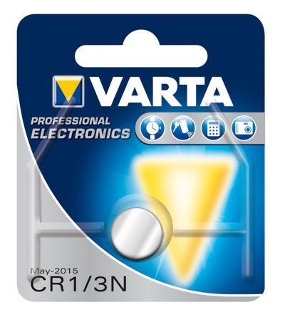 Batterie Varta CR1/3 N avec Lithium/3.0 V PHOTO/170 mAh