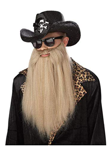 California Costumes Sharp Dressed Man Beard, Blonde, One Size Costume Accessory