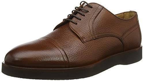BOSS Oracle_derb_grct, Zapatos de Cordones Derby para Hombre, Marrón (Medium Brown 210), 40 EU