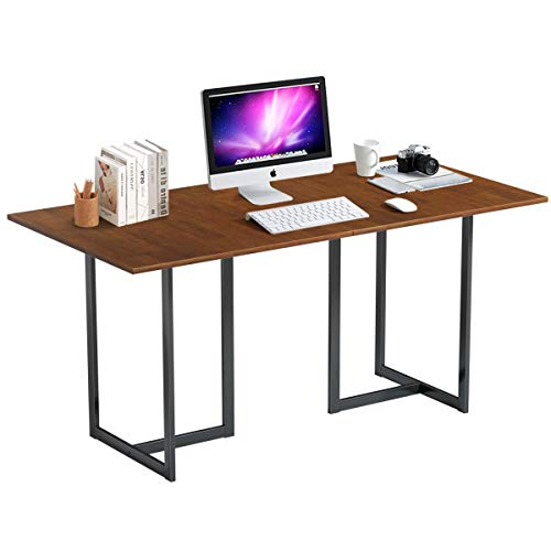 Tangkula 63 Inch Computer Desk, Large Writing Table, Modern...