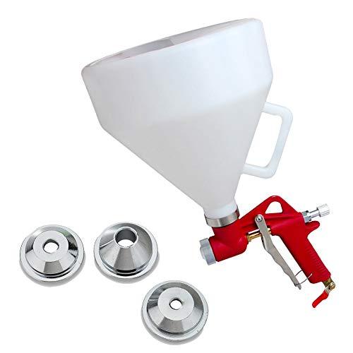 Air Hopper Spray Gun 1.5 Gallon Paint Texture Tool Drywall Wall Painting Sprayer with 3 Nozzle