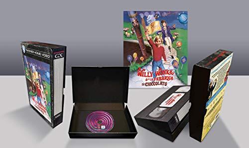 Willy Wonka e la Fabbrica di Cioccolato VHS Vintage Pack, Edizione Limitata, Blu Ray