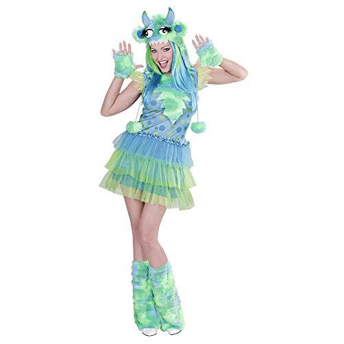 WIDMANN 01701?Disfraz para adultos chica monstruo,...
