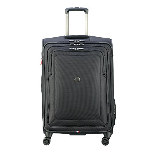 DELSEY Paris Cruise Lite Softside 25' Exp. Spinner Suiter Trolley, BLACK, One Size