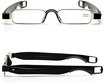 Suglss Easy Carry Mini Compact Slim Portable Lightweight Reading Glasses
