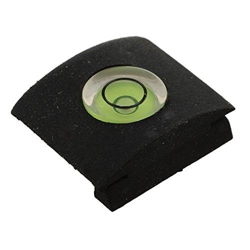 SODIAL(R)2 x Nivelador de camara con Burbuja Gradienter Hot Shoe cubierta protectora para Nikon DSLR Camara (2 piezas incluidas)-verde negro
