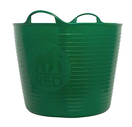 Decco Ltd SP42G Cubo Flexible, Verde, 42 litros