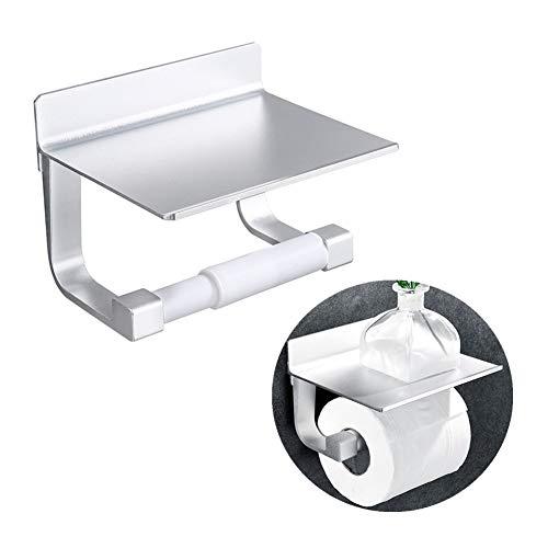 Toiletpapier Roll Toiletrolhouder Vierkante Zwarte Wc Roll Toiletpapier Houder Papieren Handdoek Houder Voor Keuken Wc-Rolhouder Wc Rollen Houder silver