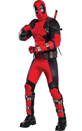 Rubies 811000XL Deadpool - Disfraz de Deadpool, para Hombre, Multicolor