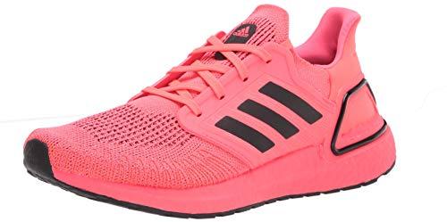adidas Herren Ultraboost 20 Sneaker, (Pink/Schwarz/Pink), 47 EU